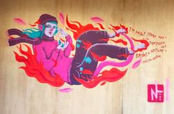 'To A Mouse' Mural
