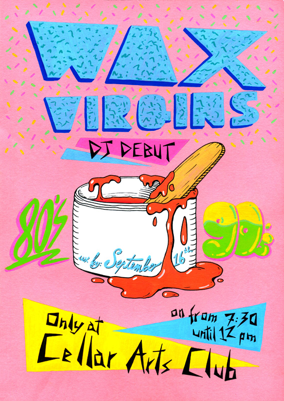 Wax Virgins Poster