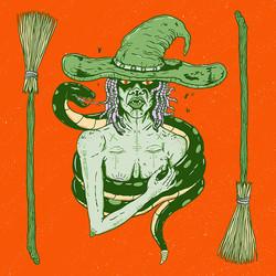 Wormy Witch
