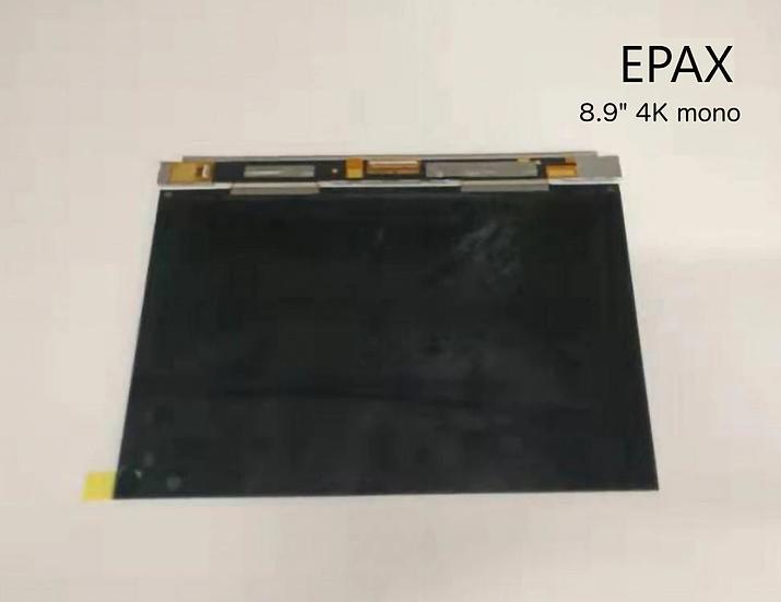 """8.9"""" 4K Mono LCD for E10/X10"""