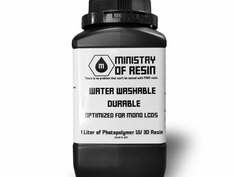 MOR Water Washable Durable, Non-Brittle Resin - In Stock!