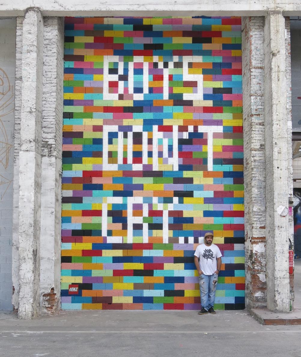 Boys don't cry...