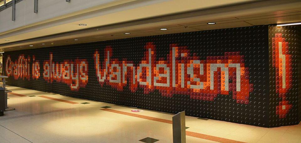 Graffiti is always Vandalism