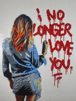 I no longer love you