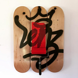LENZ x Deck on street art