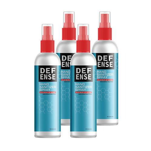 Hand Sanitizer (8 oz) (Four Pack)
