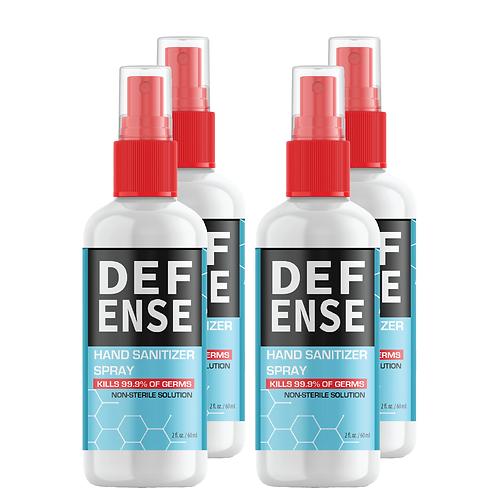 Hand Sanitizer (2 oz) (Four Pack)
