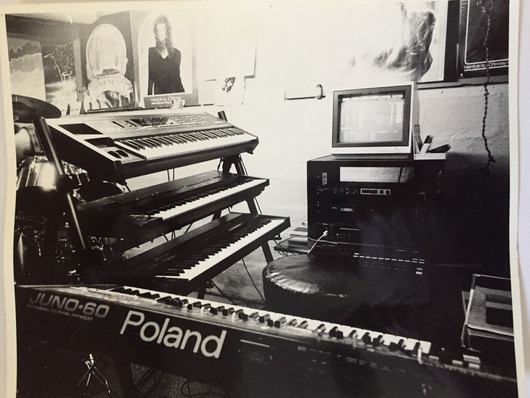 Jacks Keyboard Rig-1990