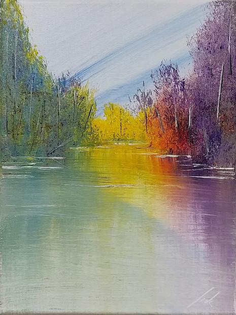 Jack Antkowiak - Acrylic Painting 2019 - vaporvoyce.com