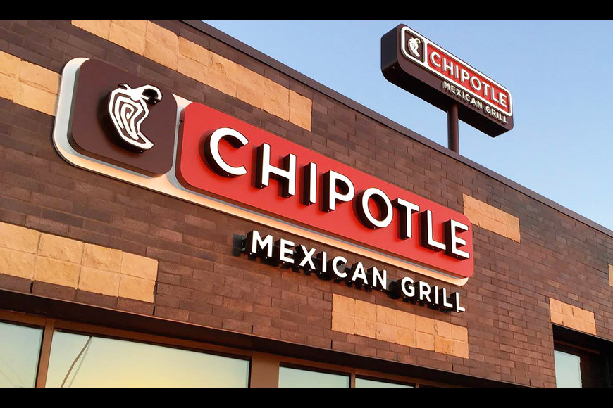 Chipotle building at Atlantic North Shopping Center