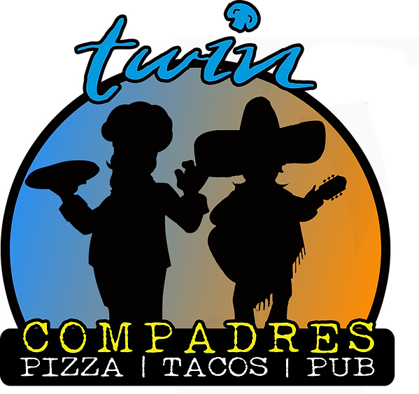 Twin & Compadres Logo Full Color PNG 12-