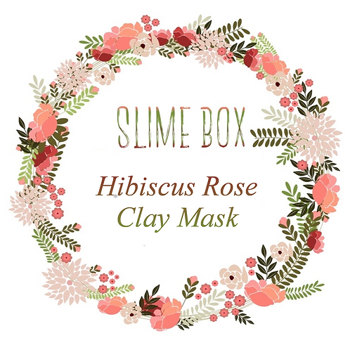 Hibiscus Rose Clay Mask