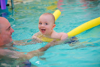 baby infant swimming class