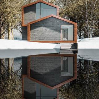 David Tomic Architect snow home 02