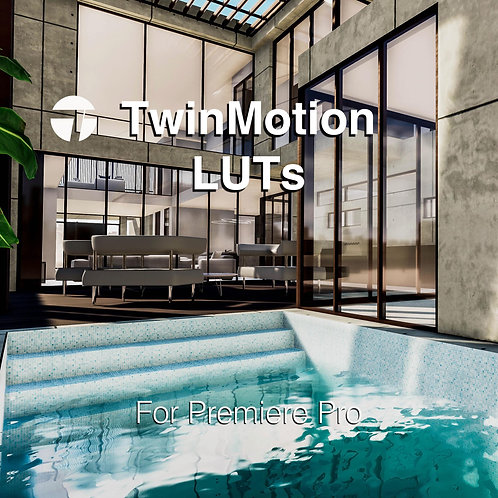 Twinmotion LUTs 2021