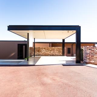 Concept Building Design_Perth Hills Residence_front carport