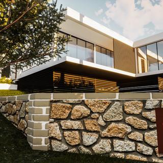 david tomic single storey solar passive albany home street level