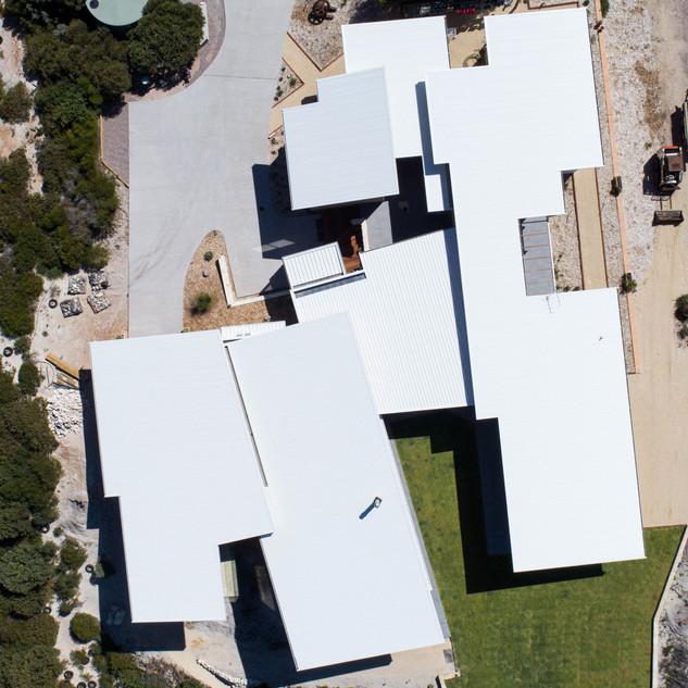 Concept Building Design_Esperance Rammed Earth_drone top view