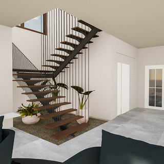 David Tomic Architect Esperance Home feature staircase