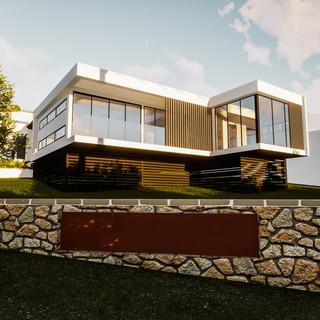 david tomic single storey solar passive albany home street view
