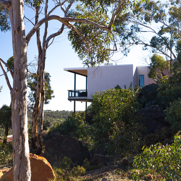 Concept Building Design_Perth Hills Residence_landscaping