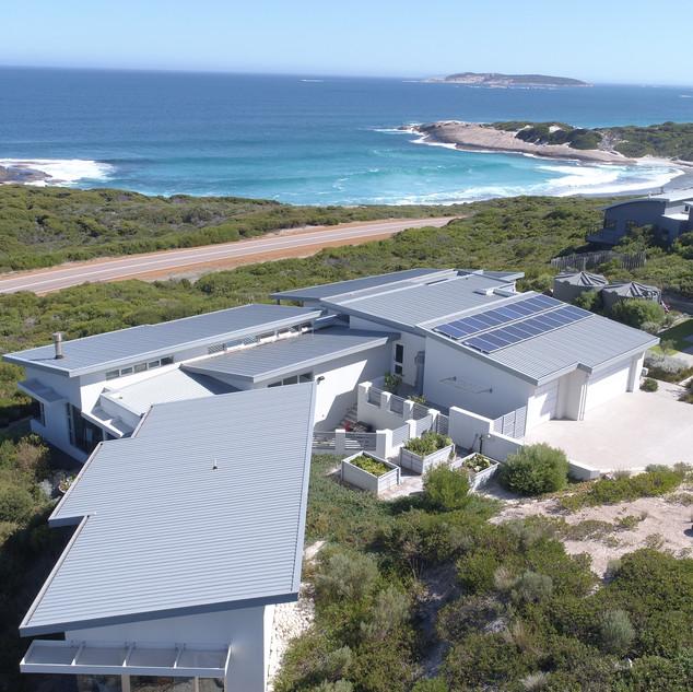 Concept Building Design_Esperance Luxury residence_beach drone
