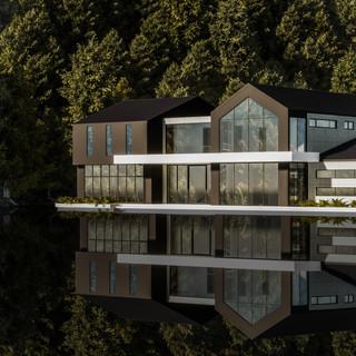 David Tomic architect lake house 03