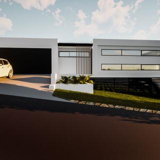 david tomic single storey solar passive albany home rear garage