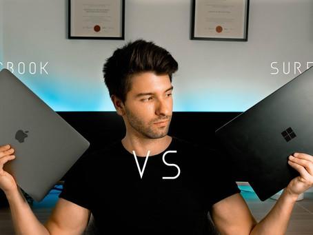 Macbook pro vs Surface Laptop 2