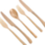 WHY Industries Rose Gold/Copper Cutlery