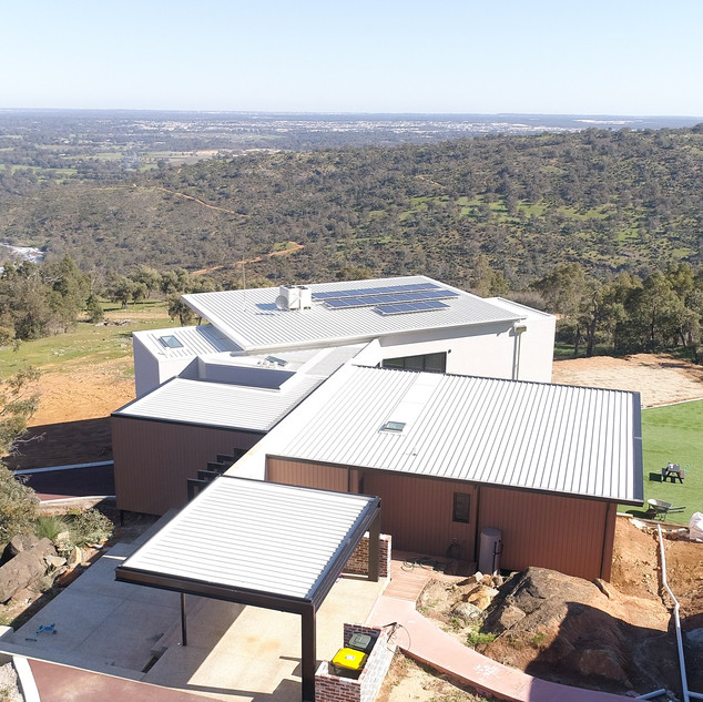 Concept Building Design_Perth Hills Residence_city views