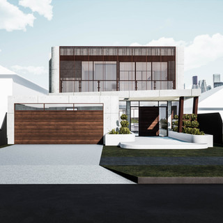 David Tomic precast concrete house perth front