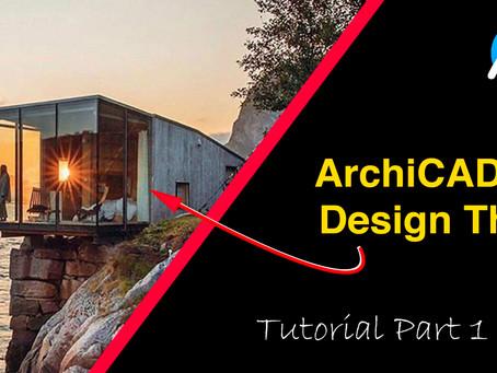 ArchiCAD 24 Design Tutorial Part 1