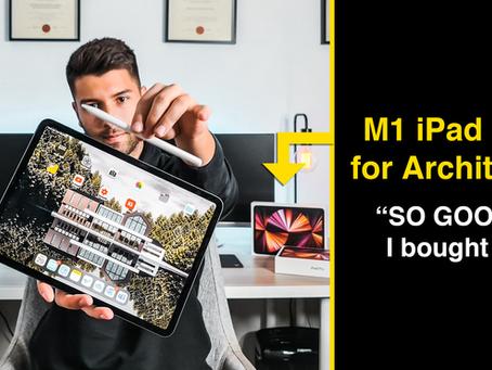 Apple M1 iPad Pro for Architects
