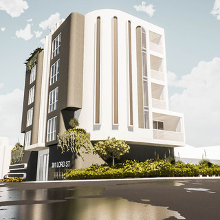 David Tomic Architect Lord Street Perth Apartments front view