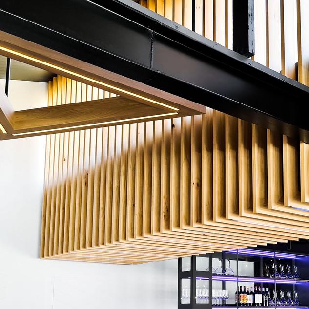 David Tomic Loft 22 feature lighting