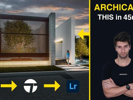 ArchiCAD 24: Design Tutorial under 45 Minutes