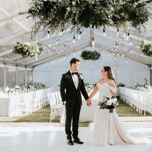 The perfect bride and groom