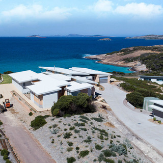 Concept Building Design_Esperance Rammed Earth_drone beach view