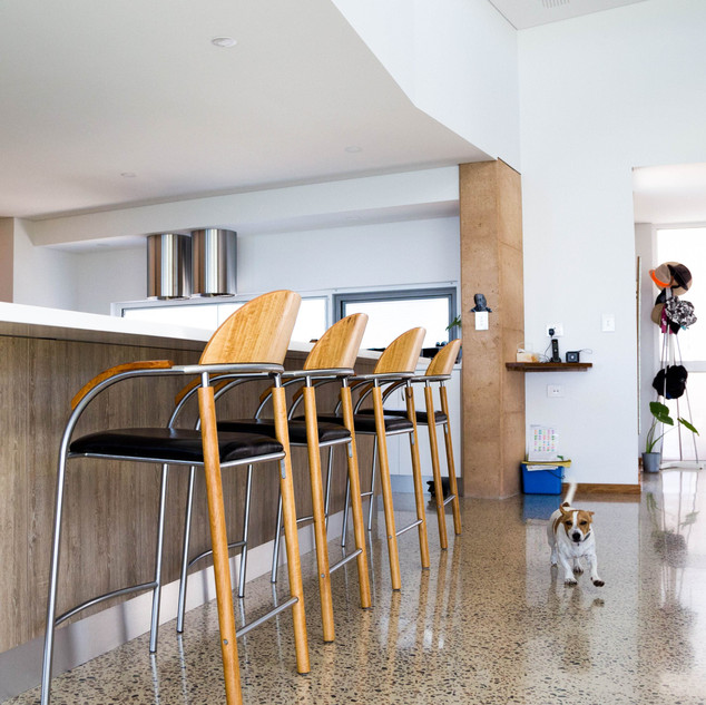 Concept Building Design_Esperance Rammed Earth_kitchen