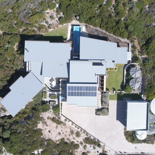 Concept Building Design_Esperance Luxury residence_drone top view