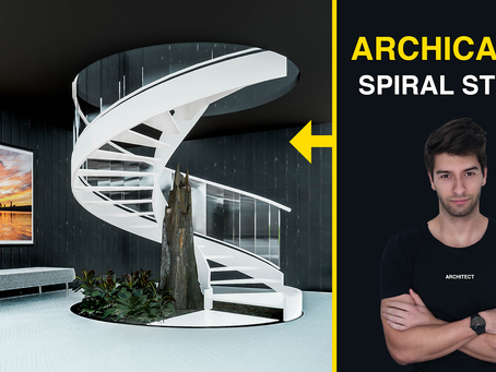 ArchiCAD 24: Spiral Stairs