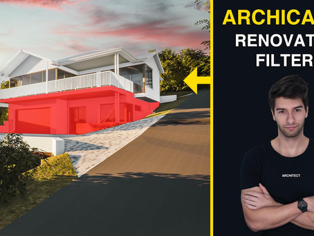 ArchiCAD 24: 30 minute Renovation Filters Tutorial
