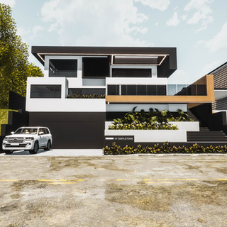 David Tomic Architect Hopetoun with builder trever craig from envisage build