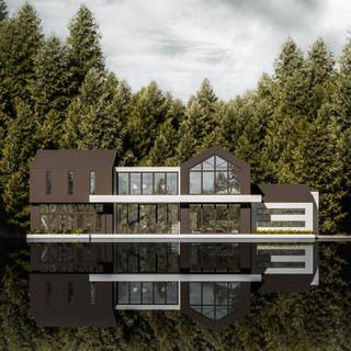 David Tomic architect lake house 02