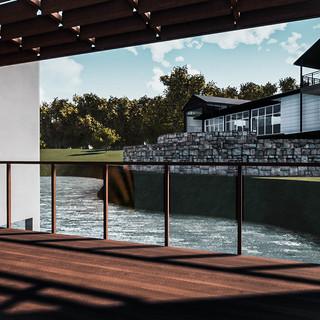David Tomic Destination architect denmark over the water villa balcony