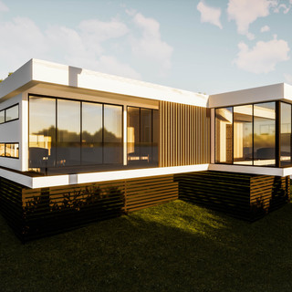 david tomic single storey solar passive albany home main living and bedroom