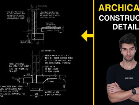 Construction Details (ArchiCAD 24)