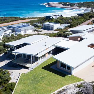 Concept Building Design_Esperance Rammed Earth_drone front