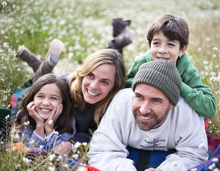 Neurofeedback happy family
